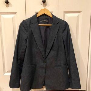 The Limited dark blue blazer, M, like new